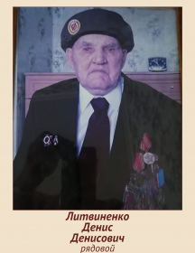 Литвиненко Денис Денисович