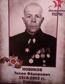 Новиков Тихон Фёдорович