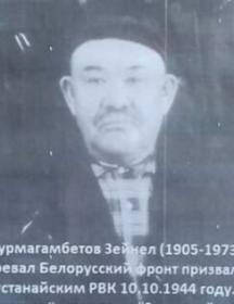 Журмагамбетов Зейнел Зейнелович