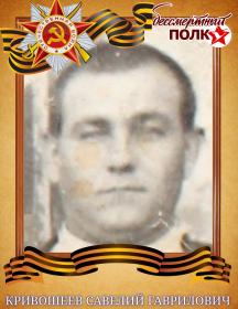 Кривошеев Савелий Гаврилович