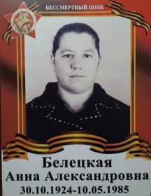 Белецкая Анна Александровна