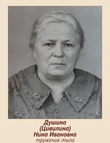 Душина (Цивилина) Нина Ивановна