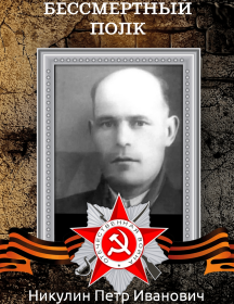 Никулин Петр Иванович
