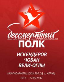 Искендеров Чобан Вели-Оглы