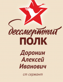 Доронин Алексей Иванович