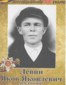 Левин Яков Яковлевич