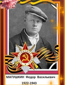 Матушкин Федор Васильевич
