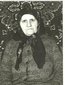 Аникина Ульяна Петровна