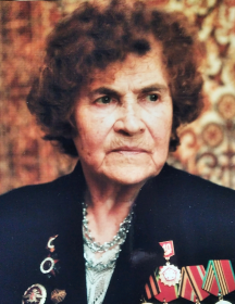 Сазанова (Сабурова) Клавдия