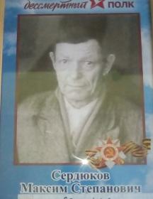 Сердюков Максим Степанович