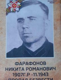 Фарафонов Никита Романович