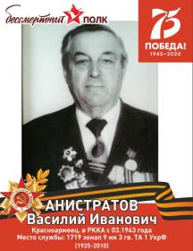 Анистратов Василий Иванович