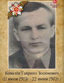 Ковалёв Гавриил Зосимович