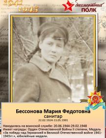 Бессонова Мария Федотовна