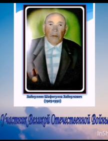 Зайнуллин Шафигулла Зайнуллович