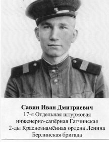 Савин Иван Дмитриевич