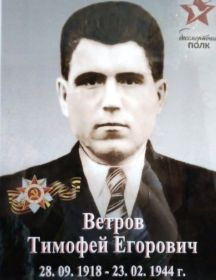 Ветров Тимофей Егорович