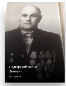 Подгорский Вольк Эйнович