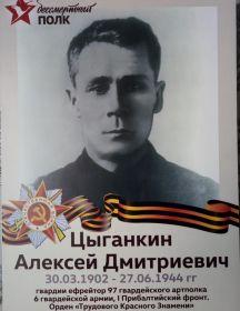 Цыганкин Алексей Дмитриевич