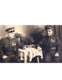 Литвяк Михал Семенович  (Справа)