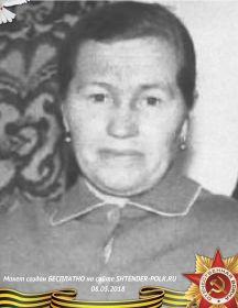 Асташева (Рубцова) Александра Михайловна