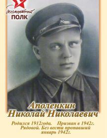 Аполенкин Николай Николаевич