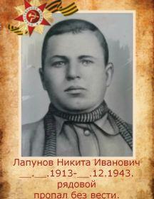 Лапунов Никита Иванович
