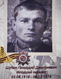 Шубин Геннадий Дмитриевич