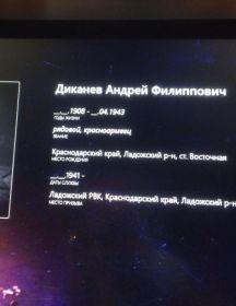 Диканев Андрей Филлипович