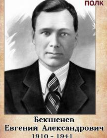 Бекшенев Евгений Александрович