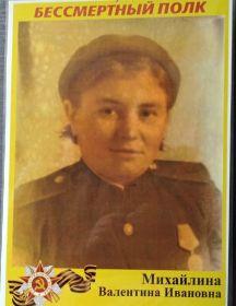 Сорокина (Михайлина) Валентина Ивановна