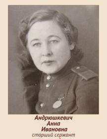 Андрюшкевич Анна Ивановна