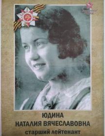 Юдина Наталия Вячеславовна
