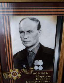 Морозов Николай Кондратьевич
