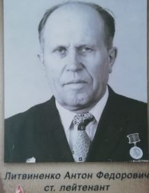 Литвиненко Антон Федорович