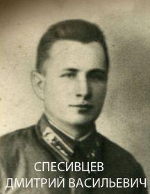 Спесивцев Дмитрий Васильевич
