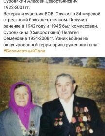 Суровикина (Сывороткина) Пелагея Семёновна