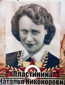 Пластинина Наталья Никоноровна