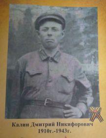 Калин Дмитрий Никифорович