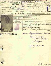 Подкорытов Михаил Степанович