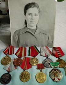 Мирошкина (Тимчук) Матрёна Афонасьевна