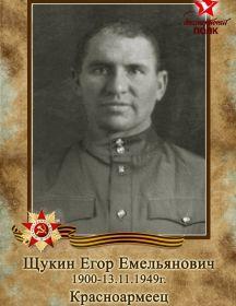 Щукин Егор Емельянович