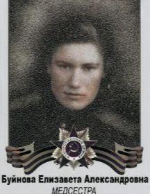 Буйнова Глаголева Елизавета Александровна