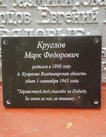 Круглов Марк Федорович