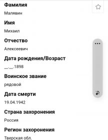 Малявин Михаил Алексеевич