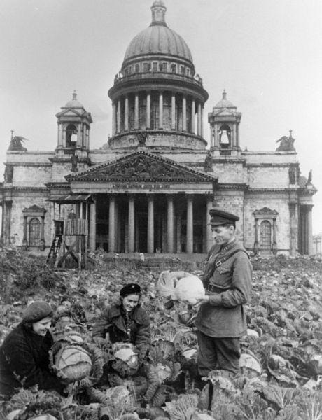 Санкт-Петербург в годы войны