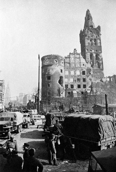Калининград в годы войны