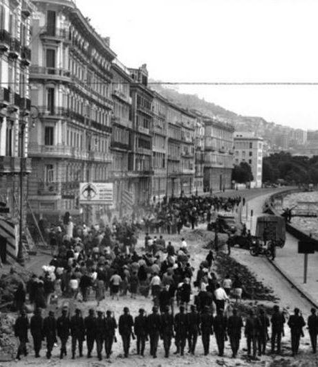 Неаполь в годы войны