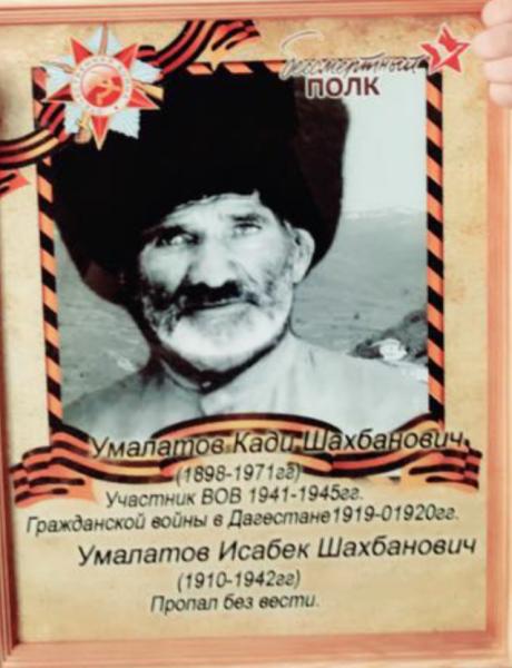 Умалатов Кади Шахбанович