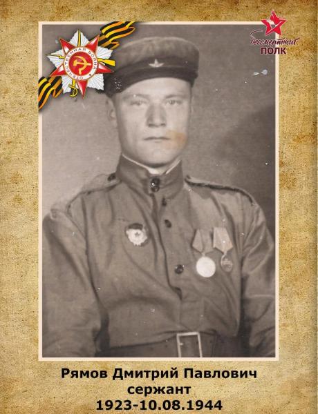 Рямов Дмитрий Павлович
